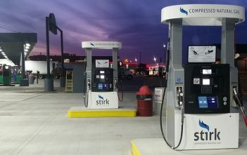 Note Weh TK17 and  TK26 nozzles on the Bennett dispensers at the new Sapp Bros-hosted Stirk CMG outlet in Council Bluffs, Iowa.