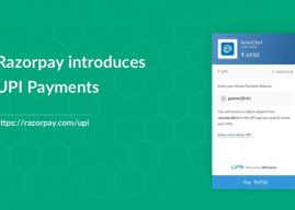 Razorpay has now started accepting UPI payments on its platform