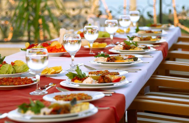 Catering Service Providers in Saudi Arabia