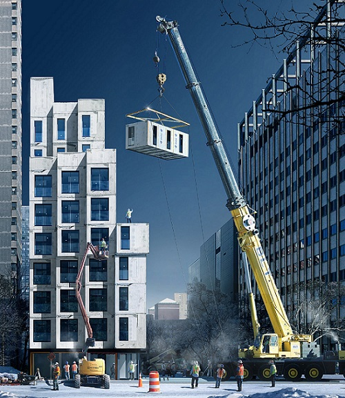 Global Modular Construction for High Rise Buildings Market