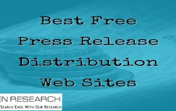 paid and free press release distribution services