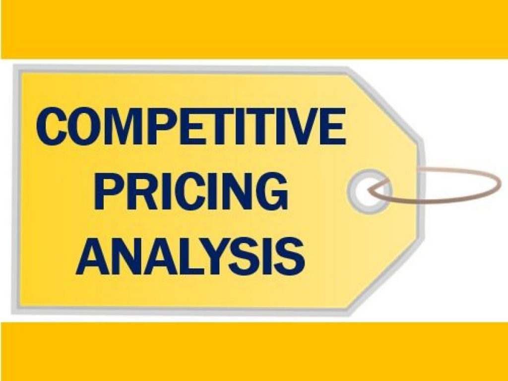 competitors product and pricing analysis