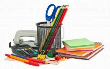 11590907-set-of-stationery-items